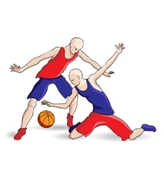 Volleyball sports game vector