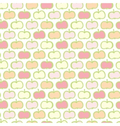 Apples pattern vector