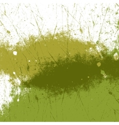 Green paint texture vector