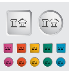 icon locking vector image vector image