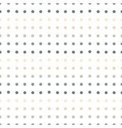 Painted polka dots seamless pattern vector