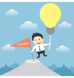 use idea to success vector image