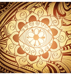 Fird Eye Mandala vector image