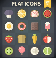 Universal Flat Icons for Applications Set 19 vector image
