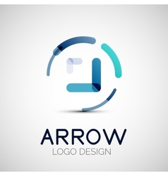 Arrow company logo vector