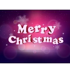 Holidays 3d merry christmas eps 10 vector