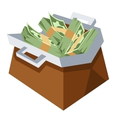 Money bag sign icon vector image