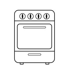 Stove icon vector image