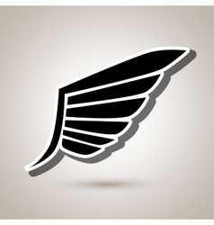 Wings icon design vector