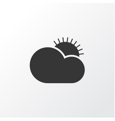 Clear sunrise icon symbol premium quality vector