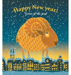 year of the Sheep vector image