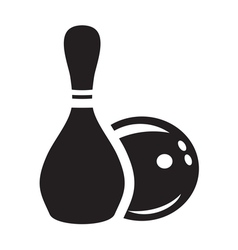 bowling3 vector image vector image
