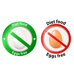 Egg free vector
