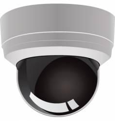 security surveillance camera vector image vector image