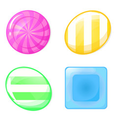 candy set vector image
