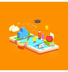E learning concept vector