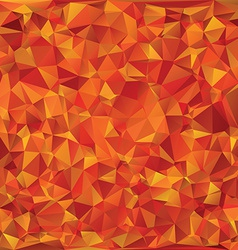 Autumn glass mosaic vector
