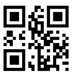 qr-code vector image