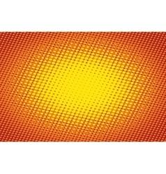 Orange light raster pop art retro background vector
