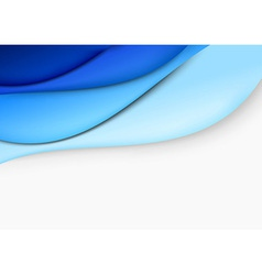 Blue layout - abstract template vector image vector image