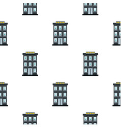 hotel pattern flat vector image