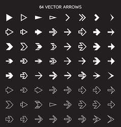 Isolated arrows set undo and previous buttons vector