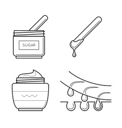 Tools for sugaring procedure vector