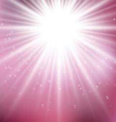 pink starburst background 0707 vector image