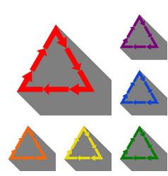 plastic recycling symbol pvc 3  plastic recycling vector image