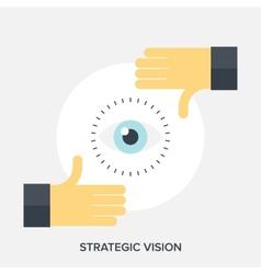 Strategic Vision vector image