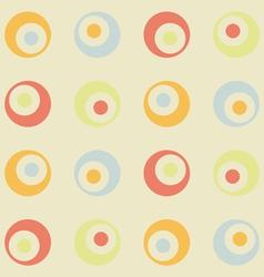 retro background seamless vector image