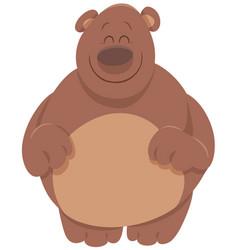 cute bear cartoon animal vector image vector image