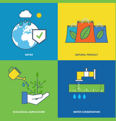 Environmental protection preservation resources vector