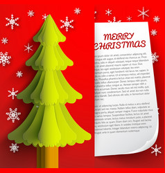 new year and christmas template vector image