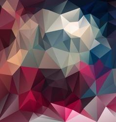 Purple magenta blue triangular pattern background vector