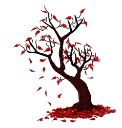 Simple Fall vector image