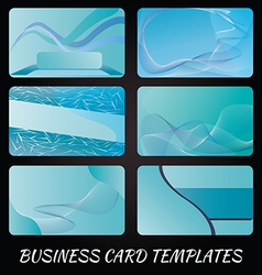 business-card-templates-4 vector image