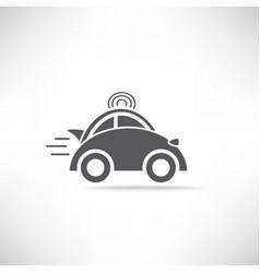 Car delivery icon vector