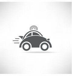 Car Delivery Icon vector image