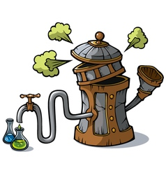 Distillation machine vector