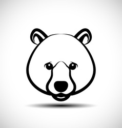 Bear icon vector image vector image