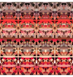 Geometric pink red background vector