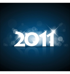 New years card vector