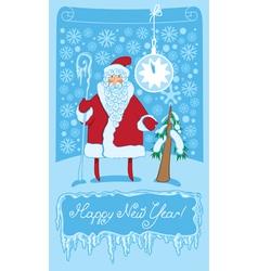 Santa vector image