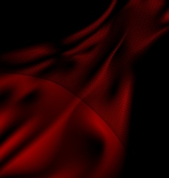 dark red silk and veil vector image