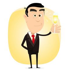 Champagne party vector