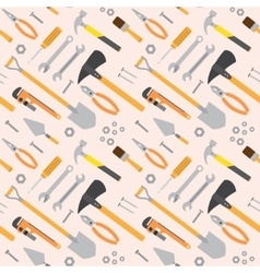 Seamless tools pattern vector