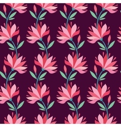 Stylish flower pattern vector