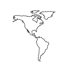 Black And White Map Of North And South America Pin South America - North and south america map