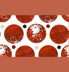 abstract red and gold colored twenty four various vector image